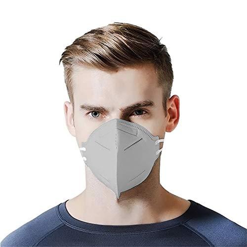 Nigalaly_𝙉𝟵𝟱_Mẵsk FDẴ Certified Coronàvịrụs Protectịon Adults 4-Ply Filtеr Fàce Màsk_𝙆𝙉𝟵𝟱- Multi pc(Gray, 25 PC)