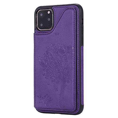 iPhone XR Flip Case Cover for iPhone XR Leather Card Holders Kickstand Premium Business Wallet Cover with Free WaterproofBag