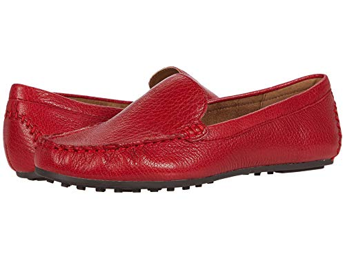 Aerosoles womens Over Drive Driving Style Loafer, Red Leather, 9 US