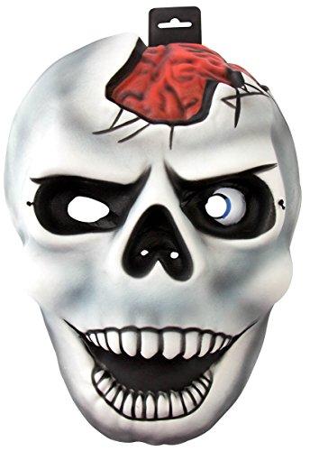 Folat Masque de fête EVA avec élastique XXL – Tête de Mort