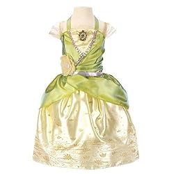 Disney PrincessTiana Enchanted Evening Kids Costume from Amazon Prime