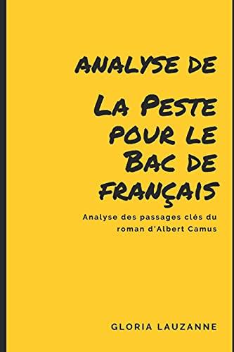 Analyse : Etudier «La Peste» au bac de français: Analyse des passages clés du roman d'Albert Camus