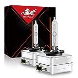 WinPower D3S 35W Xenon Bombillas Faro Bixenón Lampara HID Kit 12V Coche 4300K Amarillo Xtreme Vision (2 Lamparas)