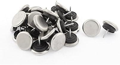 DealMux Tafel been voet vloer beschermer antislip pads nagels 32mm hoofd dia 30st