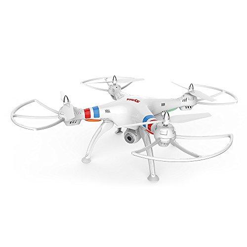 SYMA X8W WiFi Quadrocopter Live FPV Videoübertragung Explorer Drohne FPV Kamera inkl. Copter Card
