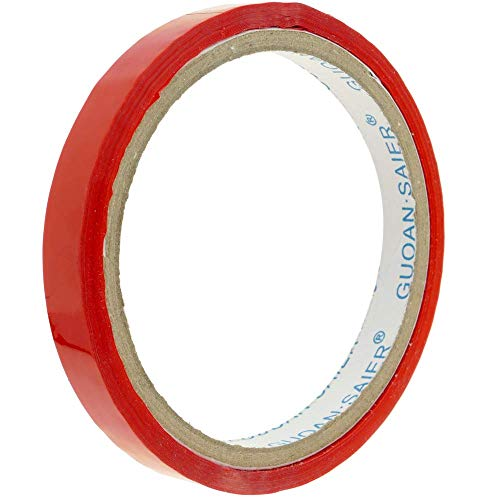 PrimeMatik - Rot Klebeband für Edelstahl Beutelverschliesser Beutelverschlussgerät Klebebandspender