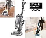 Shark NV650 Series Rotator Powered Lift Away Upright Hard Floor and Carpet Vacuum Cleaner, Gray