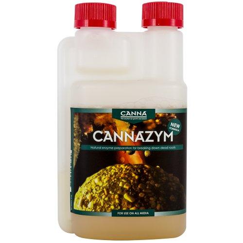 Canna - ZYM, Preparato Enzimatico, accelera la decomposizione della necromassa radicale e Attiva Le funzioni biologiche dei microrganismi, 1 l