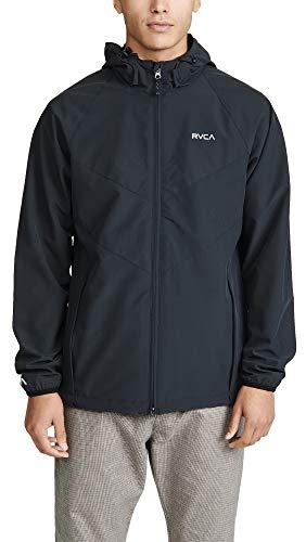 RVCA Sport Va Windbreaker Jacket Black Medium