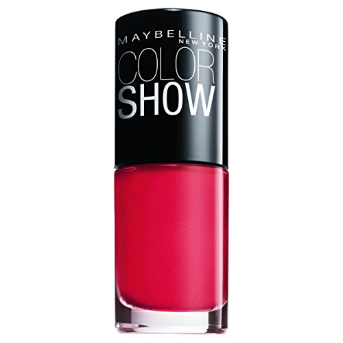 Maybelline New York Make-Up Nailpolish Color Show Nagellak Nail Care 7 ml power rood