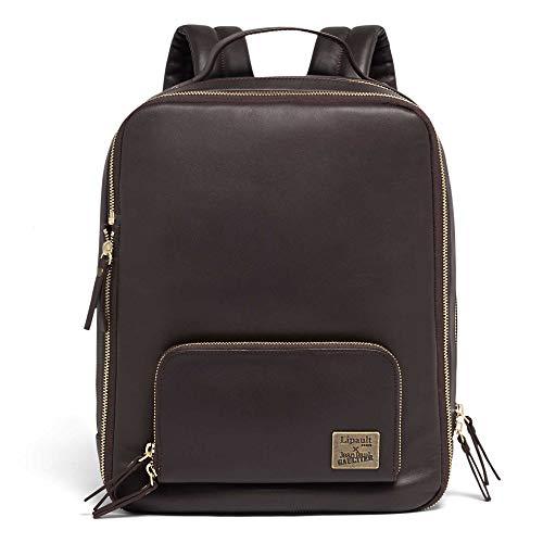 Lipault - Jean Paul Gaultier Mix Rucksack - Medium über Schulter Geldbörse Tasche für Frauen, Rot (burgunderfarben), Medium