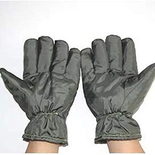 ZFZ Staubfreies und hochtemperaturbeständige Handschuhe 300 Degrees Isolations Handschuhe Reinraum Werkstatt Hochtemperaturbeständige Handschuhe