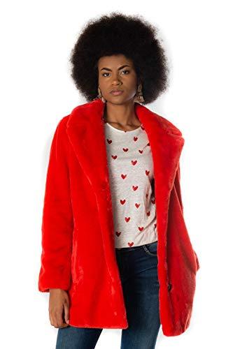 Oakwood Naveesm Abrigo, Rojo (Feu 509), Medium para Mujer
