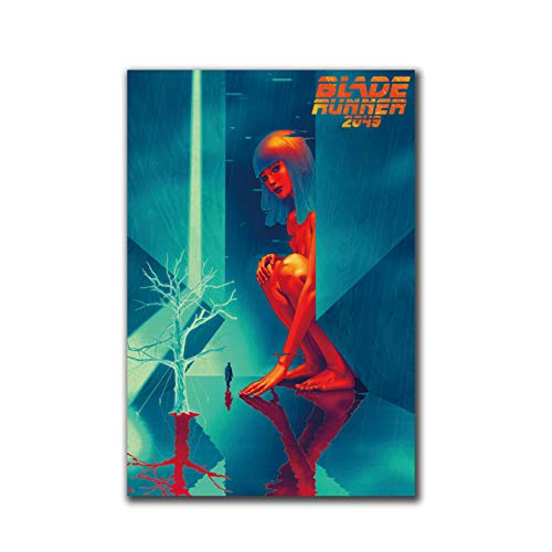DNJKSA Blade Runner 2049 Harrison Ford 2017 Film Posters Leinwand Kunstdruck Wohnkultur Wandbilder Wohnzimmer Wohnkultur -50x75cm Kein Rahmen