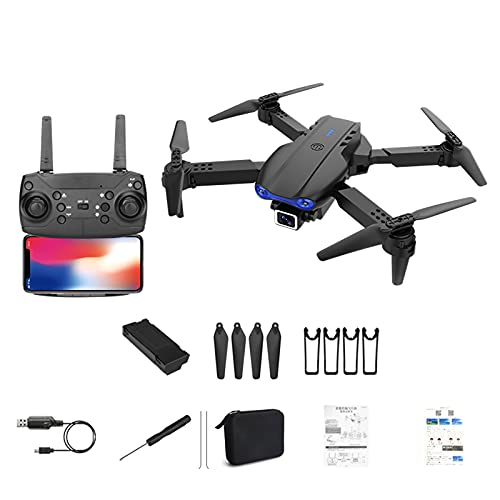 XYZO SG108 Mini Drone, 5G WiFi and Gimbal HD 4K Camera Drone, 4-Axis Gimbal HD Anti-Shake Cam Camera Drone with GPS Auto Return, Aerial Toys for Beginners (1 Camera, Black)
