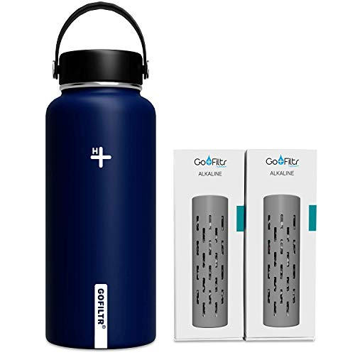 GOFILTR Alkaline Water Bottle Hydration Kit