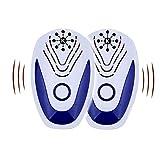 KAIZEN Repellente Antizanzare Ultrasuoni Portatile -Repellente Topi ed Insetti ad ultrasuoni-Contro:Ratti-Ragni-Formiche-Scarafaggi-Zanzare-Topi-Blatte-Cimici-Raggio di Azione 360°
