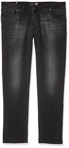 Atelier GARDEUR Herren Bill Straight Jeans, Schwarz (Black 199), W38/L32