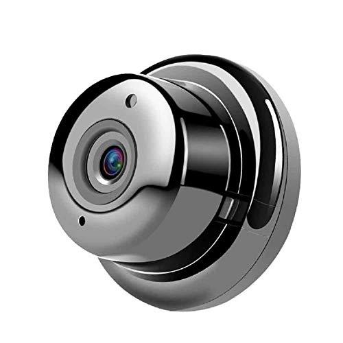 Mini Smart 720P gebogen scherm panoramische ip-camera, wifi kan worden aangesloten op mobiele telefoon thuisbewaking (1.8Mm lenzen, gebogen scherm 180 graden)