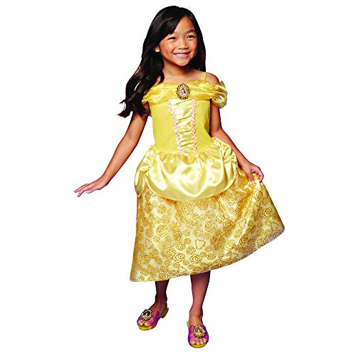 Disney Princess Belle Dress Costume for Girls, Perfect for Party, Halloween Or Pretend Play Dress Up