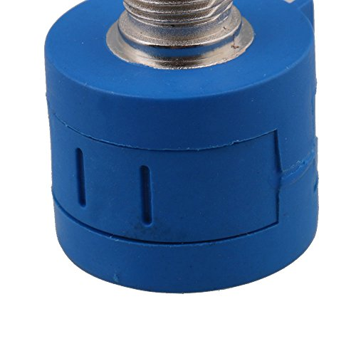 CNBTR Wirewound Cylindrical Potentiometers 2K Ohm 10 Turn 3590S-2-202L Rotary Shaft Set of 2