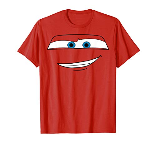 Disney Pixar Cars Lightning McQueen Big Face T-Shirt