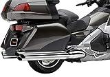 COBRA(コブラ) GL1800用 6-IN-6 スリップオン クローム