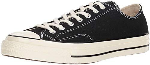 Converse Unisex-Erwachsene Taylor Chuck 70 Ox Sneakers, Schwarz (Black/Black/Egret 001), 42.5 EU