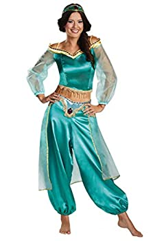 Aladdin Animated Women s Jasmine Prestige Costume Large