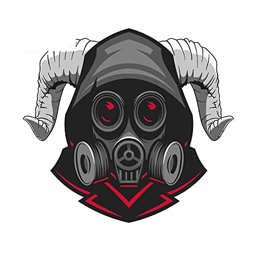 A X 13cmx1c1.9m para Aries Antigas máscara calcomanía Parabrisas refrigerador RV Coche Pegatinas Motocicleta