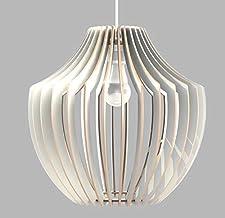 Lampadario moderno Design Vaso Stilizzato Lampada Sospensione Soffitto Arredamento