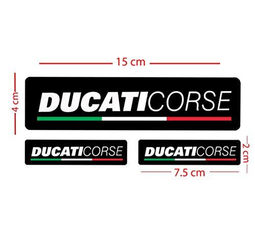 Ducati Corse Set Aufkleber