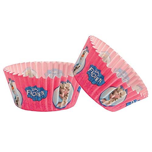 Frozen Regina delle Nevi 339236 - Pack di 50pirottini per Cupcake in Carta Rosa, Dimensioni 5x 5x 3cm