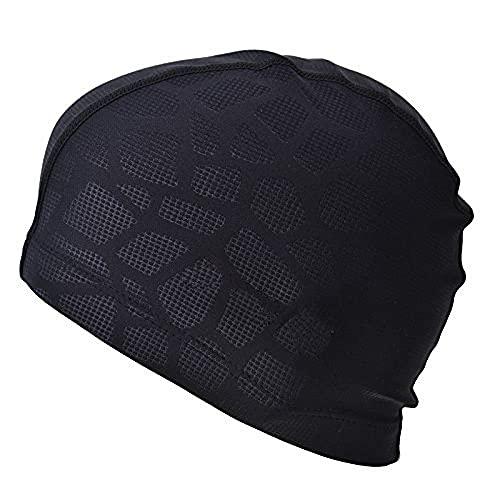 SHESHY Hombres Flexibles Impermeable a Prueba de Humedad Adultos tamaño de la Gorra de natación Fibra de algodón Sombrero de natación