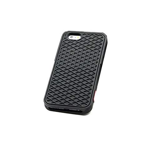 Carcasa para iPhone 7 y 8 con suela de zapatilla completa, color negro