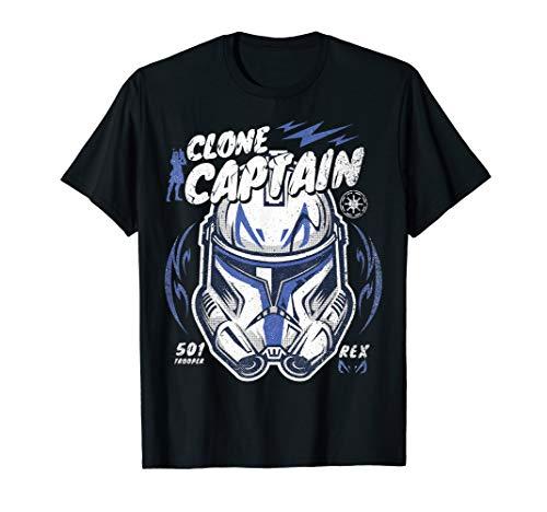 Star Wars Clone Wars Clone Captain Rex T-Shirt