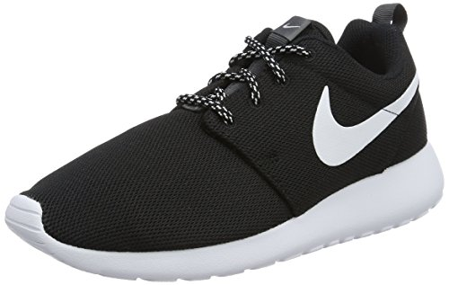 Nike Damen W Roshe One Laufschuhe, Schwarz (black/white-dark grey), 35.5 EU