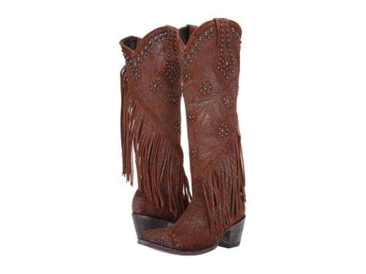 州残る信じるOld Gringo(オールドグリンゴ) レディース 女性用 シューズ 靴 ブーツ ウエスタンブーツ Savannah Tall - Gold/Rust [並行輸入品]