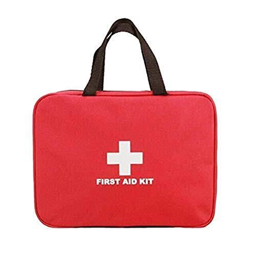 Sscatola per Medicinali Outdoor Kit di primo soccorso portatile Medicina Borsa medica Borsa di stoccaggio Health Care Ideale for auto...