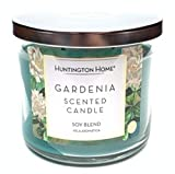 Huntington Home Gardenia Soy Blend Scented Candle