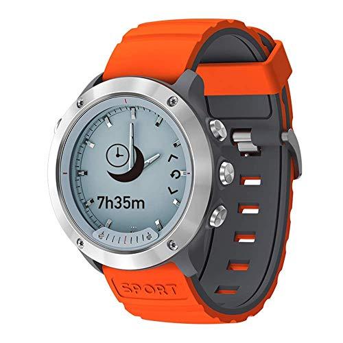 CYGGJ Hybrid Smart Watch Sport Smartwatch für Männer und Frauen mit transparentem Bildschirm / 5ATM Wasserdicht/Activity Tracker Schrittzähler/Herzfrequenz- und Schlafmonitor