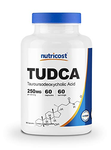 Nutricost Tudca 250mg; 60 Capsules (Tauroursodeoxycholic Acid) - Premium Quality by Nutricost