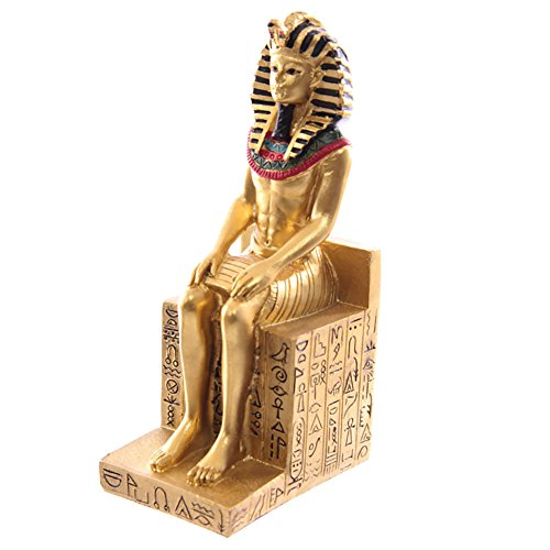 Skulptur Ramses II auf dem Thron 13 cm