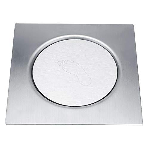 Garosa Scarico a Pavimento in Acciaio Inox Pedale Rimbalzo Filtro Doccia scolapiatti per impianti Idraulici Bagno(#3)