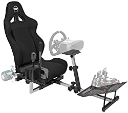 powerful Openwheeler GEN2 Racing Bike Stand Black on Black | Suitable for all Logitech G29 | G920 | All…