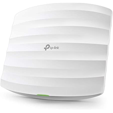 TP-Link EAP225 V3   Omada AC1350 Gigabit Wireless Access Point   Business WiFi Solution w/ Mesh Support, Seamless Roaming & MU-MIMO   PoE Powered   SDN Integrated   Cloud Access & Omada App   White