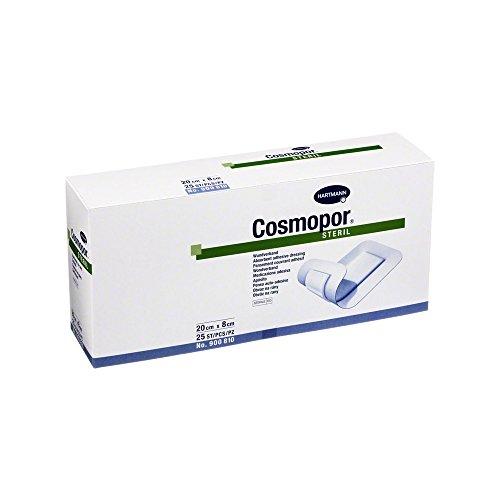 Cosmopor steril 8x20 cm, 25 St, 250 g