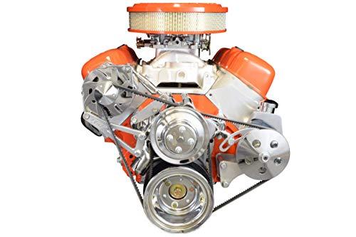 ICT Billet BBC Turnbuckle Alternator/Power Steering Pump Accessory Drive Bracket Kit 551493
