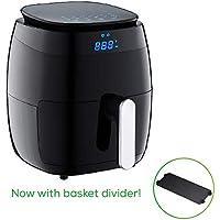 GoWISE USA 5.0-Quart 1500-Watt Digital Air Fryer with 8 Presets