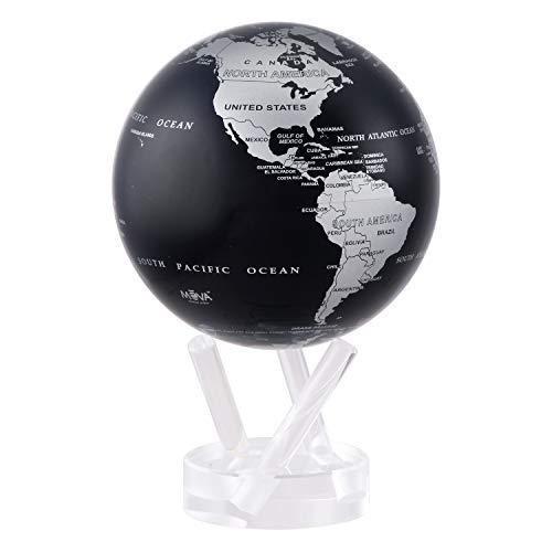 Black and Silver MOVA Globe 4.5